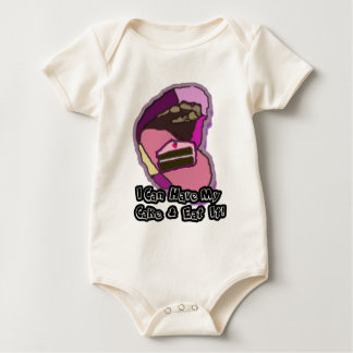 I can have my cake and eat it baby bodysuit