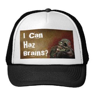 I can haz brains? trucker hat