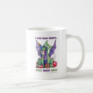 I Can Haz Fairy NOM NOM NOM cute baby dragon Basic White Mug