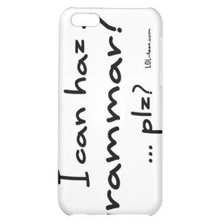 I Can Haz Grammar? iPhone 5C Cover