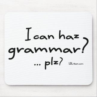 I Can Haz Grammar? Mousepad