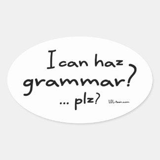 I Can Haz Grammar? Sticker