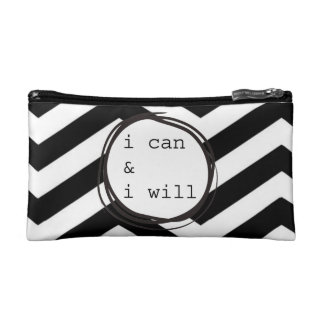 I can & I will Cosmetic Bag