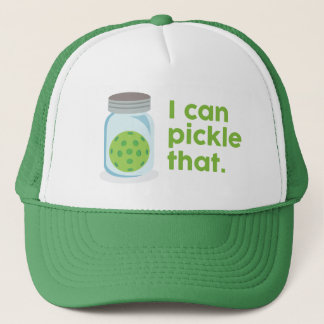 """""""I Can Pickle That"""" Pickleball Hat"""