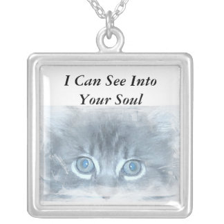 I Can See Into Your Soul - Cat Necklace
