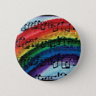 I Can Sing A Rainbow 6 Cm Round Badge