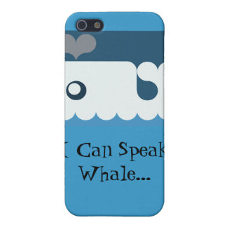 """I Can Speak Whale..."" iPhone case Case For iPhone 5/5S"