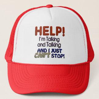 I Can't Stop Talking Cap