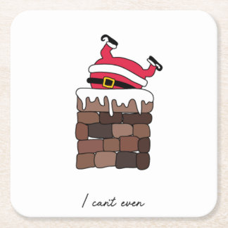 I Can't Even Christmas Coasters