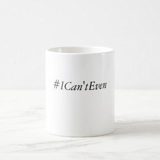 I can't even mug