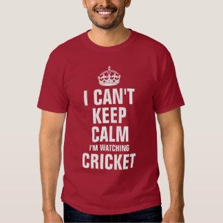 I can't keep calm I'm watching Cricket Shirt