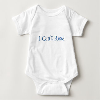 I Can't Read Tee Shirts