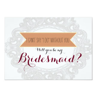 "I can't say ""I Do"" without you 