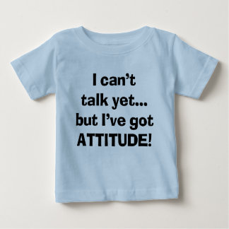 I Can't Talk Yet Baby T-Shirt