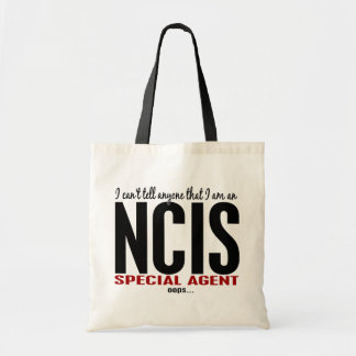 I Cant Tell Anyone NCIS Agent Budget Tote Bag