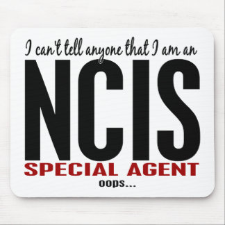 I Cant Tell Anyone NCIS Agent Mouse Mat