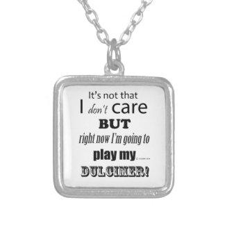 I Care Dulcimer Custom Jewelry