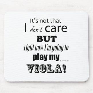 I Care Viola Mouse Pads