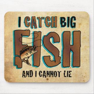 I Catch Big Fish Mouse Pad