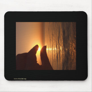 I caught the sun for you mouse pad