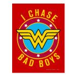 I Chase Bad Boys Post Card