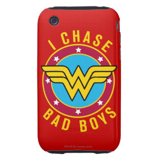 I Chase Bad Boys Tough iPhone 3 Cases