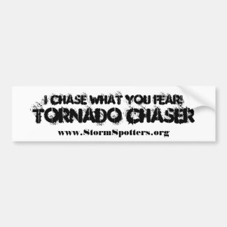 I Chase What You Fear Bumper Stickers