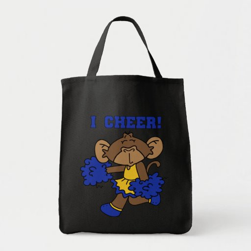 I Cheer Blue and Gold Tshirts and Gifts Bag