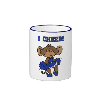 I Cheer Blue and White T-shirts and Gifts Coffee Mug