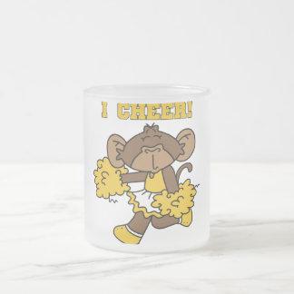 I Cheer Gold and White T-shirts and Gifts Mug