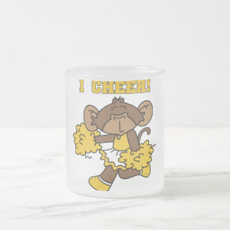 I Cheer Gold and White T-shirts and Gifts Mugs