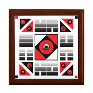 I Ching 8 Trigrams Sacred Stash Box Large Square Gift Box
