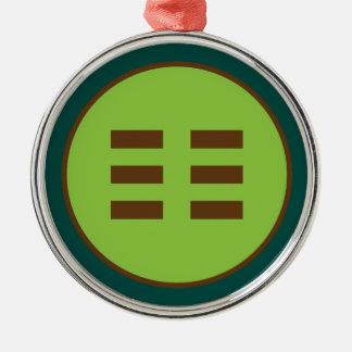 I Ching Earth Trigram (Kun) Christmas Ornament