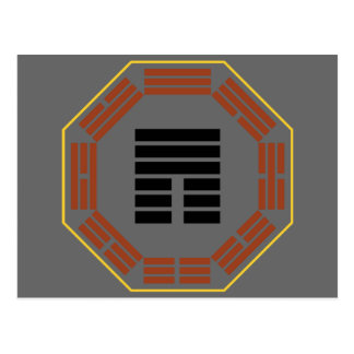I Ching Hexagram 12 P i Obstruction Post Card