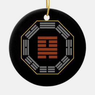 I Ching Hexagram 18 Ku Restoration Ornament