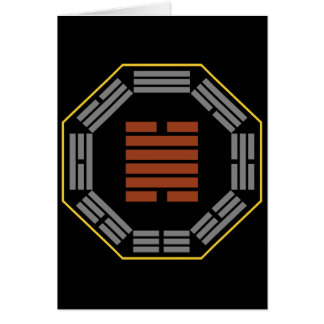 """I Ching Hexagram 28 Ta Kuo """"Great Exceeding"""" Cards"""