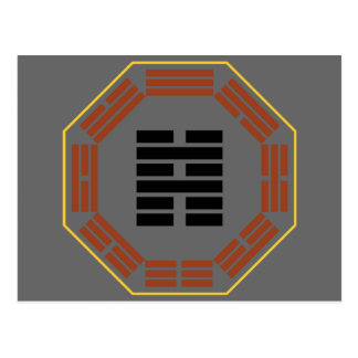 "I Ching Hexagram 39 Chien ""Obstruction"" Postcard"