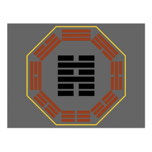 "I Ching Hexagram 39 Chien ""Obstruction"" Post Cards"