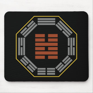 """I Ching Hexagram 40 Hsieh """"Deliverance"""" Mouse Mat"""