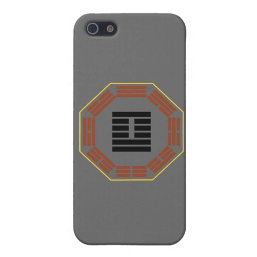 "I Ching Hexagram 41 Sun ""Decrease"" Cases For iPhone 5"