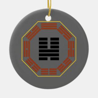 """I Ching Hexagram 46 Sheng """"Ascending"""" Christmas Ornament"""