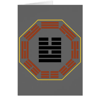 "I Ching Hexagram 54 Kuei Mei ""The Marrying Maiden"" Greeting Card"