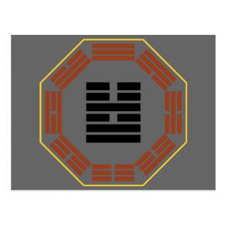 "I Ching Hexagram 54 Kuei Mei ""The Marrying Maiden"" Postcard"