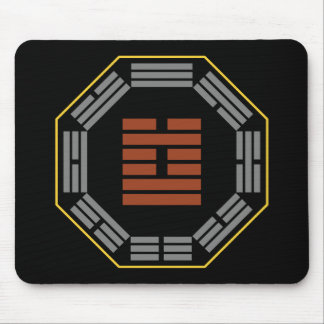 "I Ching Hexagram 60 Chieh ""Limitation"" Mouse Pad"