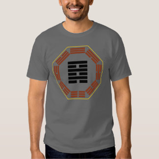 """I Ching Hexagram 64 Wei Chi """"Before Completion"""" Tee Shirt"""