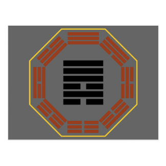 "I Ching Hexagram 6 Sung ""Contention"" Postcard"