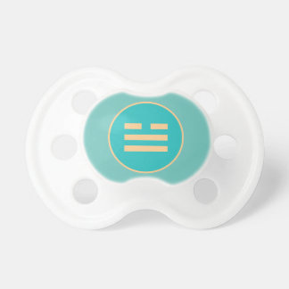 I Ching Lake Trigram (Dui) Pacifiers