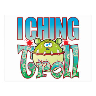 I Ching Troll Postcard