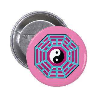 I Ching Yin Yang Badge