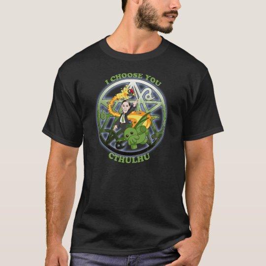 I Choose Cthulhu: Green T-Shirt
